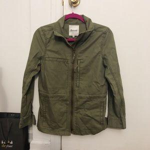 Madewell Army Green Jacket